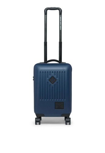 Herschel blue Hard 4-Wheel Trade Carry On 4C47DAC0E04E93GS_1