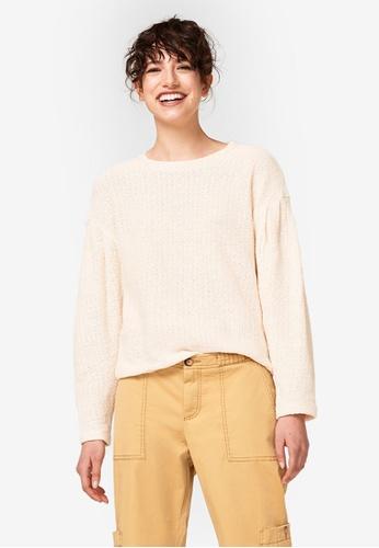 ESPRIT beige Long Sleeve Sweatshirt 633B7AAE1C20B9GS_1