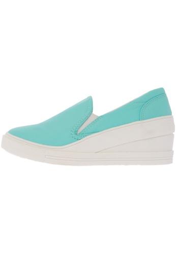 Maxstar 7H Synthetic Leather White Platform Slip on Sneakers US Women Size MA168SH81DLQHK_1
