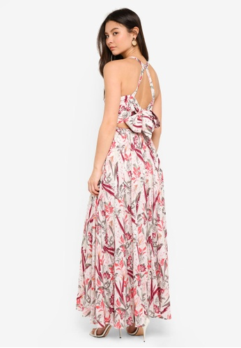 Forever New multi Elka Lace Spliced Maxi Dress 97882AA61FF59FGS_1