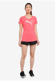 Puma Core-Run Shorts Sleeve Logo Tee RM 89.00. Sizes XS S M XL