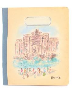 L'après-midi Mini Notebook - Rome