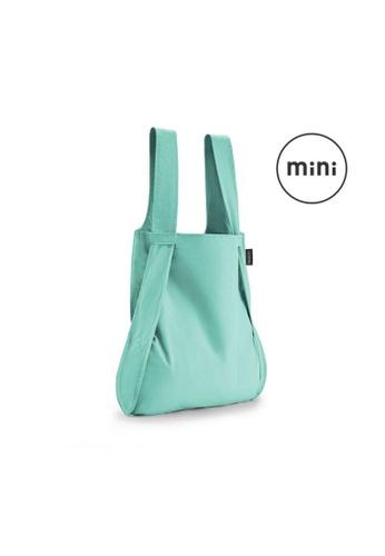 NOTABAG green Notabag Mini Convertible Tote Backpack - Kids - Mint 73476ACB85C3ABGS_1