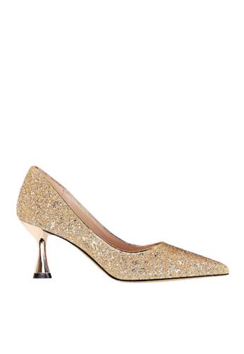Twenty Eight Shoes 金色 雙色閃片晚裝及新娘鞋 VP12662 628E7SH0E0DA13GS_1