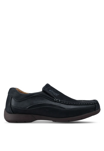 Louis Cuppers black Slip On Sneakers 76DBFSH2FA4674GS_1