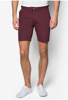 CN - Chino Shorts With Buckle Detail