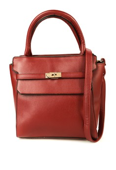 Audrey h. Top Handle Bag