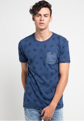 X8 blue Grady T-Shirts X8323AA0V7LEID_1