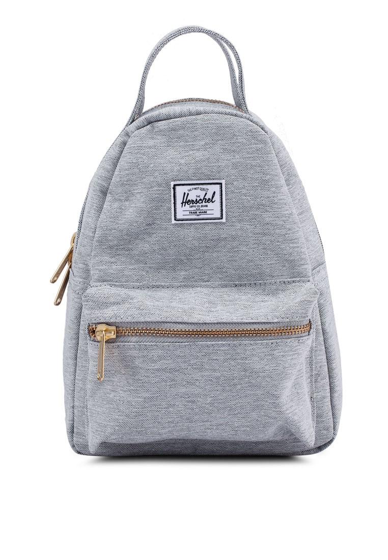 b641816d5d2 Friday Nova Herschel Mini Black Light Backpack Crosshatch Grey x00OFnwp4q