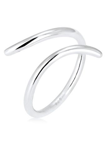 Elli Germany silver Elli Germany Spiral Ring EL474AC0S20AMY_1