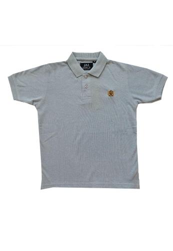 KAMDAR blue Boys collar T/shirt 8C87BKA1A976E1GS_1