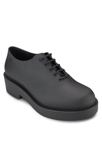 漆面繫帶布洛克鞋, 女鞋,zalora 包包 ptt 鞋