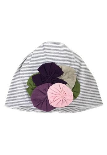Lowela grey Beanie Hat 9A4EAKC6D862BEGS_1