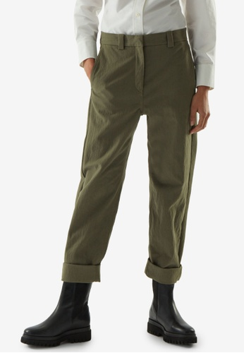 COS green Relaxed Chino Pants 5A171AAABE0E2CGS_1