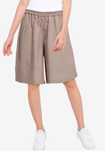 Denim Crew brown Women Cullote Pants 381A5AAF918C97GS_1