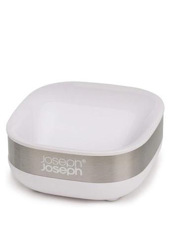 Joseph-Joseph silver Slim Compact Soap Dish B8F34HL5E91A79GS_1