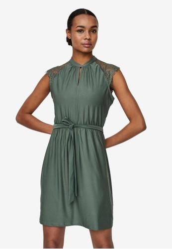 Vero Moda green Lace Mini Dress 956B8AAEED6908GS_1