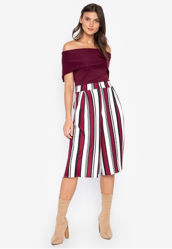 aaaa4f722c1 Shop F.101 Blouse and Crop Pants Set Online on ZALORA Philippines