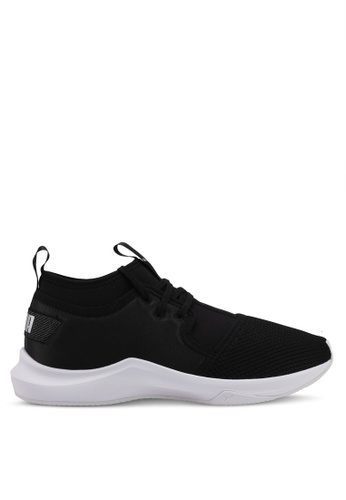 Puma black Phenom Low Satin Ep Shoes PU549SH0SWDFMY_1