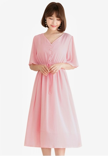 Tokichoi pink Strap Tie Dress 3C72AAA85078D4GS_1