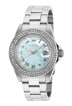 Sea Base Lady 40mm Case Silver Stainless Steel Strap White Dial Quartz Watch 20362