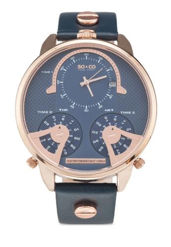 SO&CO blue Soho 5240 Watch DC7DAACA1BA3D9GS_1