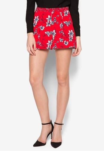 Int 花卉圖案短褲, 服飾zalora是哪裡的牌子, 服飾