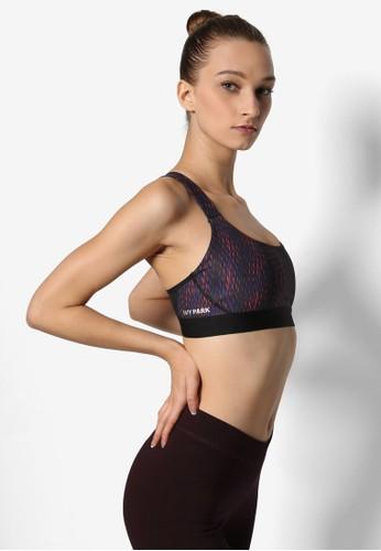 印esprit 內衣花削背運動胸罩, 服飾, 上衣