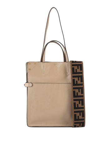 Fendi brown Flip Large Shoulder Bag (zt) 87705ACC0FF018GS_1
