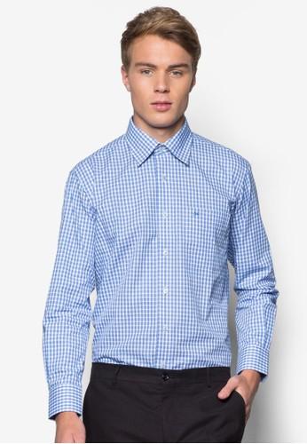 格紋長袖襯衫, esprit床組服飾, 服飾