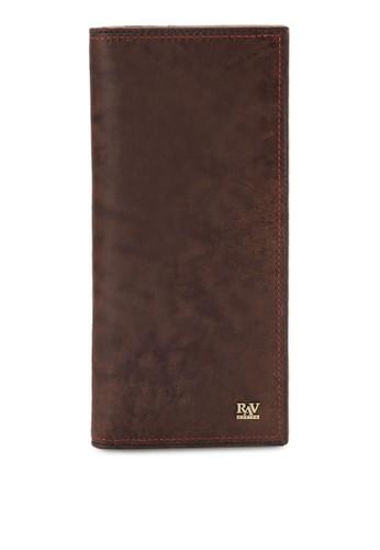 皮革esprit hk store對折長夾, 飾品配件, 皮革