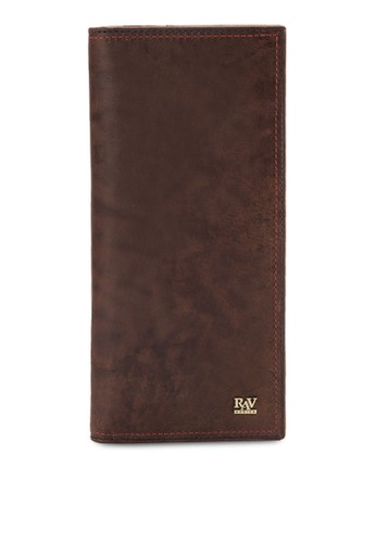esprit台北門市皮革對折長夾, 飾品配件, 皮革