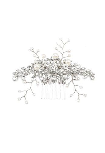 ALDO silver Mullender Hair Comb 1238DACC4C23E9GS_1