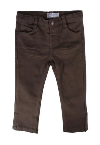 LC Waikiki green Baby Boy?s Slim Fit Heavy Trousers 2736CKACC02703GS_1