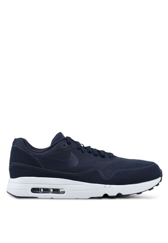 Nike navy Men's Nike Air Max 1 Ultra 2.0 Essential Shoes BF173SH8ED3394GS_1