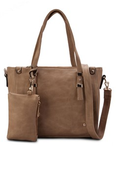 Soft Supple Convertible Tote with Wristlet