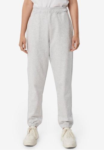Vero Moda grey Odez High Waist Sweatpants 48CF7AAAFD9F00GS_1