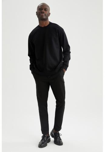 DeFacto black Oversize Sweatshirt 9B46AAA79E1975GS_1