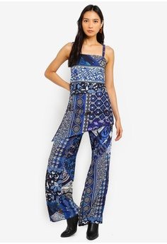 be96c6ed7 30% OFF Desigual Candice Layered Jumpsuit S$ 209.00 NOW S$ 146.30 Sizes S M  L
