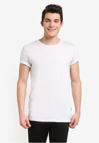 Cotton On white Ae Droptail Tee CO372AA0RI1UMY_1