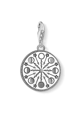 "THOMAS SABO silver Charm pendant ""Mondphase"" 2F1CBACE27EB6BGS_1"