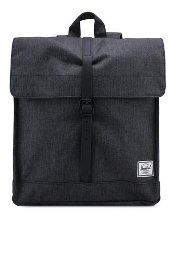 Herschel black City Mid-Volume Backpack 71A55ACDE5D16CGS_1