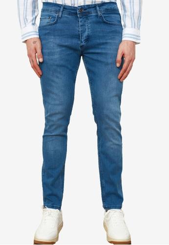 Trendyol blue Washed Skinny Fit Jeans CD1A8AAF359068GS_1