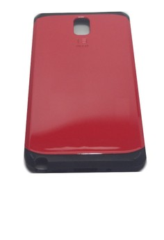 Sleek Shockproof Case for Samsung Note 3 (Red)