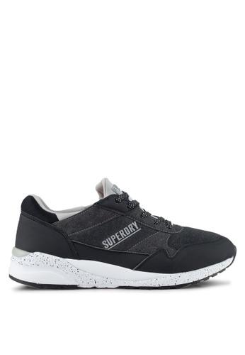 Superdry black Street Runner Trainer B1775SHB8550B5GS_1