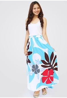 Balinas Long Skirt Floral