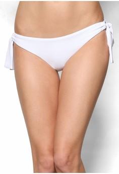 【ZALORA】 側扣環繫帶低腰比基尼泳褲