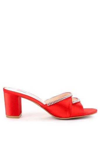 Studio NINE red Ladise Shoes 02621Za E0D59SHE73547AGS_1
