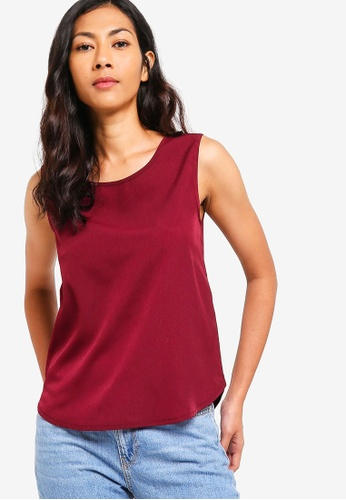 ZALORA BASICS red Basic Shell Top 61A70AA6B0CBCFGS_1