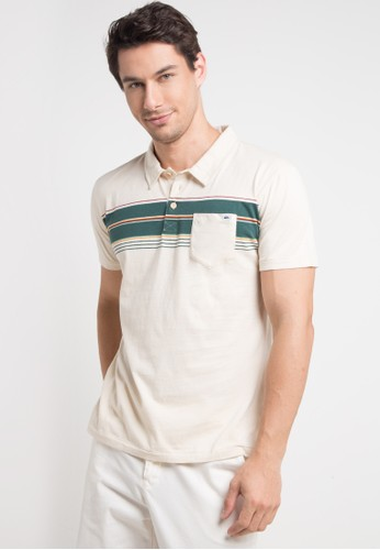 Quiksilver multi and beige Dabawyid Polo Shirt 1A15CAA27537B2GS_1